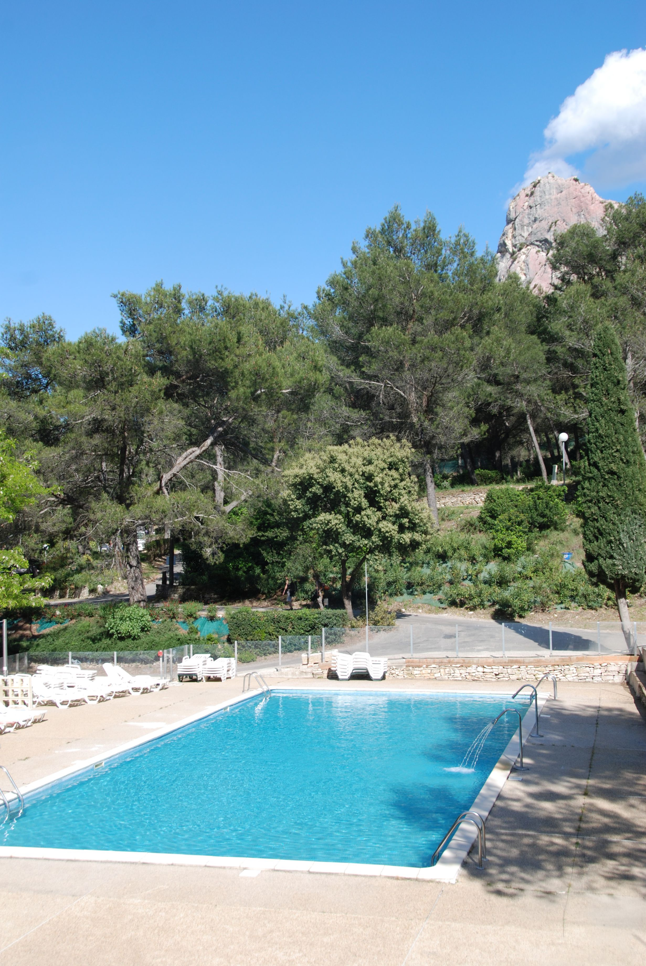 Camping en Provence avec piscine