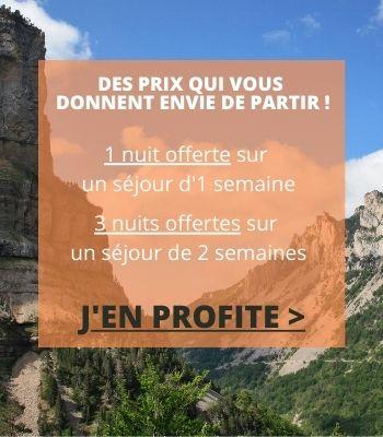 Promotion vacances - montagnes en Provence