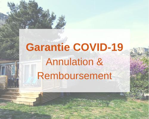Vacances au camping en Provence - Garantie annulation et remboursement COVID-19